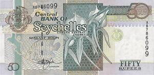 Seychellen / Seychelles P.38 50 Rupien (1998) (1) UNC