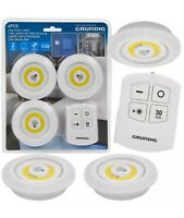 Grundig Wireless Remote Control Ceiling LED Cob Lights Counter Cabinet Cupboard
