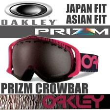 NEW OAKLEY CROWBAR PINK PRIZM SNOWSPORT SNOW GOGGLES - SUITS ASIAN & JAPANESE