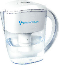 Alkaline Water Ioniser Jug with one 7 stage filter. Maifan Stones, 10.2 pH water