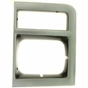 New Right Side Headlight Door For Chevrolet Blazer 1989-1990