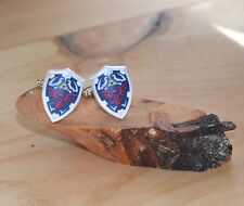 Hylian Shield Cufflinks | Legend of Zelda | Handcrafted