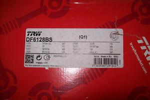 2 disques frein arrière TRW DF6128BS peugeot citroen 308 3008 c4 ds5 berlingo