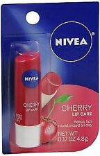 NIVEA Lip Care Balm Cherry - .17 oz, Pack of 5
