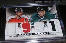 "Pat Falloon Eric Lindros Hockey Card ""1991"" Panini Prime Duals /200"