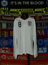 5/5 England ladies womens size 14 2007 #8 MINT football shirt jersey trikot