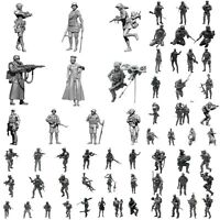 1/35 Skala Resin Model Figures Kit Moderne Soldaten Kit Abbildung