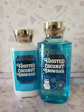 Bath & Body Works FROSTED COCONUT SNOWBALL ~Gel & Lotion NEW ~ FREE Shipping