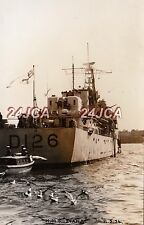 """Photograph Royal  Navy. HMS """"Diana"""" Destroyer. Sold to Peruvian Navy Fine! 1954"""