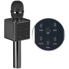 Karaoke Micro: Karaoke-Mikrofon mit Bluetooth, MP3-Player, Lautsprecher und Akku