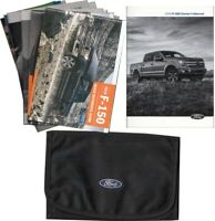 2019 Ford F-150 Owners Manual with Case and Pamphlets F150 Owner User Guide Book