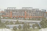 Martin Barry The Nest Baltimore Ravens Stadium Hand Colored Matted Print