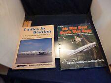 2 MILITARY BOOKS SQUADRON SIGNAL PUB.  AIR WAR NORTH VIET NAM  DAVIS MONTHAN