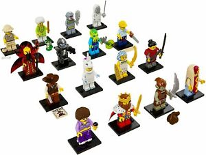 Lego Minifigures Series 13 Complete Set of 16 as new