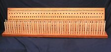 900mm (3') Cherry Peg loom, 3 gauge, 3 row, hand crafted from British hardwood