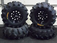 "HONDA FOREMAN 450 26"" EXECUTIONER ATV TIRE- ITP BLACK ATV WHEEL KIT COMPLETE"
