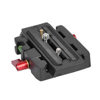 Quick Release QR Plate Clamp Adapter Base Station CL For DSLR Camera Tripod Ra I