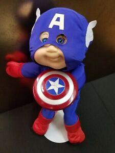 Marvel Cabbage Patch Kids Captain America PROTOTYPE JAKKS Avengers