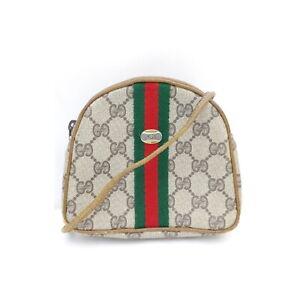 Gucci Shoulder Bag pretty Browns PVC 2403205