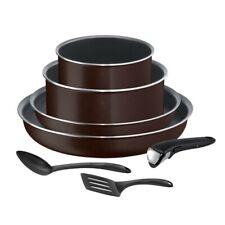 TEFAL - Batterie de Cuisine 7 Pièces INGENIO ESSENTIAL Tous Feux sauf Induction