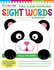 NEW 32pg Sight Words Workbook Preschool Kindergarten Free Album Download