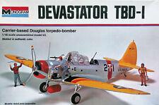 "Monogram 1:48 Douglas TBD-1 ""Devasator"" dive bomber & crew. Kit Nr. 7575"