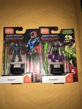 mega construx masters of the universe Scareglow And Statos