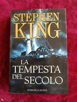 LIBRO BOOK Stephen King La tempesta del secolo Sperling & Kupfer 2000.  GAT1