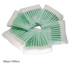 300pcs Cleaning Swabs Swab Sponge Stick For Solvent Format Inkjet Printer Roland