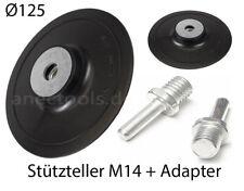 5x Schleifteller Tellerschleifer Schleifmaschine Klett Winkelschleifer M14 115mm