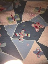 Pottery Barn Twin Quilt and two shams