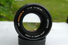 EX-Minolta 50mm/f1:1.4 MD-X-Rokkor lens for Minolta XK camera