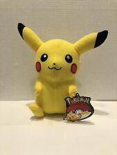 """10""""inch Pikachu Pokemon Stuffed Animal Plush Toyfactory, NEW"""