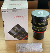 OPEN BOX Meike 35mm T2.1 FF Cinema Lens - Sony E Mount - NEW Ships Fast From USA
