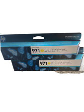 Genuine HP 971 Officejet Yellow Colour Ink Cartridge - CN624AE - VAT Inc