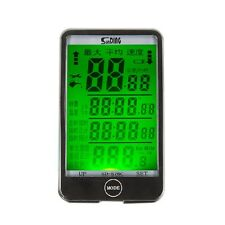 Water-Resist SD-576C LCD Touch Screen Wireless Cycle Bicycle Computer Backlight