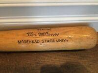 Vintage Tim McCarver Louisville Slugger Game Model Baseball Bat Morehead State