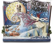 """Nightmare Before Christmas """"Once Upon A Nightmare"""" Storybook Figure By Jim Shore"""