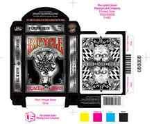 CARTE DA GIOCO BICYCLE ZOMBIE RIDERs,poker size