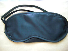 Travel eye mask masks sleeping blindfold black eyemask