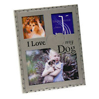 I Love my Dog Multi Photo Picture Frame NEW