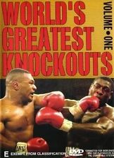 World's Greatest Knockouts : Vol 1 (DVD, 2003)