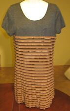SOPHIE & Kate DRESS Copper Gray $129 Sexy Size large STRETCH NWOT #