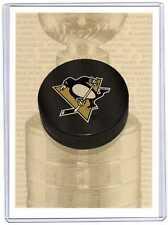"Pittsburgh Penguins 04/05 ITG Franchises 7x5"" #TH-46 Boxtopper Box Topper SP"