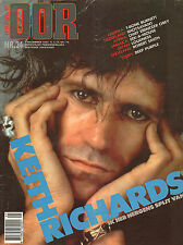 MAGAZINE OOR 1983 nr. 24 - KEITH RICHARDS / THE CURE / DEEP PURPLE / LOUDNESS