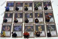 Yu-Gi-Oh!  Dungeondice Monsters Booster Pack Series4Complete Set15Monsters+Cards