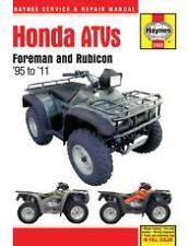 Honda TRX 400 450 500 Foreman Rubicon ATV Quad MANUAL Owners Book Service 2011