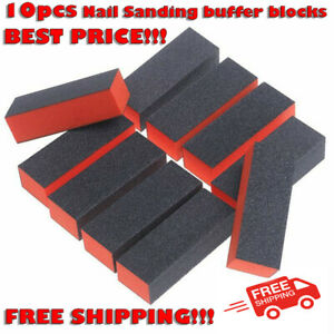 10pcs 4 Way Buffer Block Shine File Sanding Nail Manicure Pedicure Beauty Tool