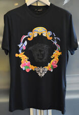 versace medusa mens black tshirt XXL