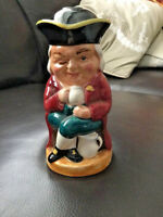 Burlington Ware Vintage The Winker Toby Jug